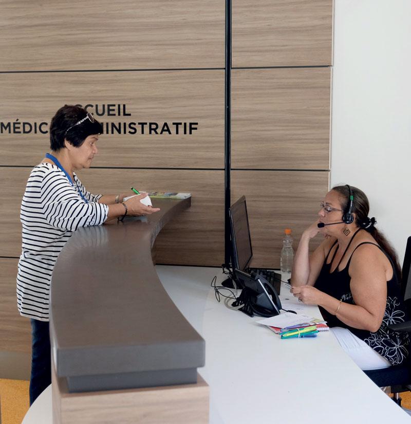 Accueil medical administratif